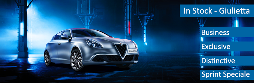 Alfa Romeo Giulietta's now available
