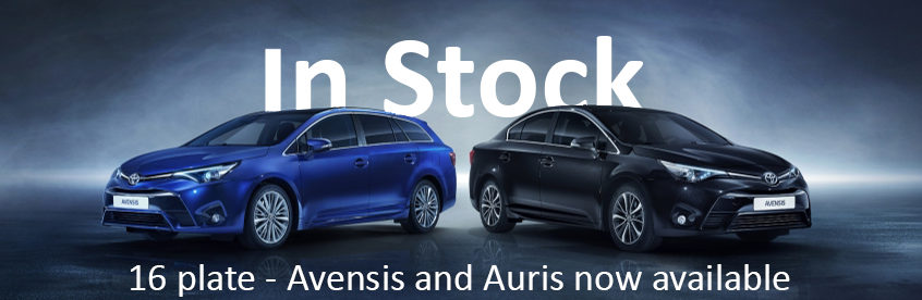 Avensis and Auris now available from grs